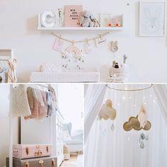 Aujourd'hui, on visite l'adorable chambre bébé de Coco: lien sur la bio .