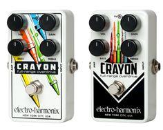 NAMM 2016: Electro Harmonix Crayon Full Range Overdrive