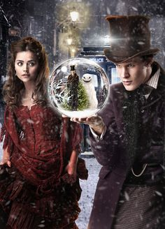 The Snowmen Promo Poster. FANTASTIC episode. Easily my favorite 11 Christmas Special.