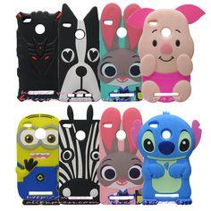 For Xiaomi Redmi 3 Pro / 3s Silicone Back Cover Case & 3D Cute Cartoon Stitch Phone Bag Cases Coque For Redmi3 Pro xiomi 3 s