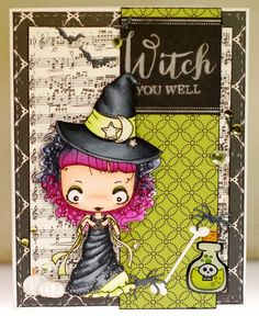 A thousand sheets of paper: Witch you well...