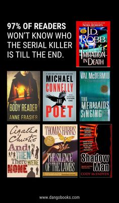 Val Mcdermid, Then There Were None, Scary Tales, Welcome On Board, Michael Connelly, Ted Bundy, Psychological Horror, Till The End, Thriller Books