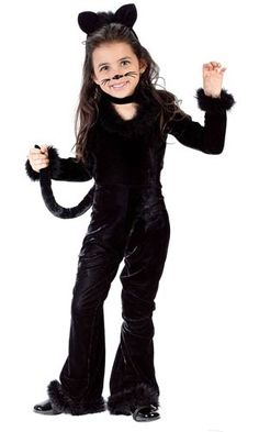 Toddler Playful Kitty Kids Costume - Cat Costumes  sc 1 st  Pinterest & DIY Cat Costume for Kids | Pinterest | Diy cat costume Black cat ...