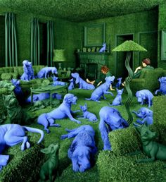 Creative Colorful Photography by Sandy Skoglund