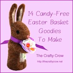 candy-free Easter basket goodies to make