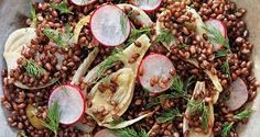 radishes and barley