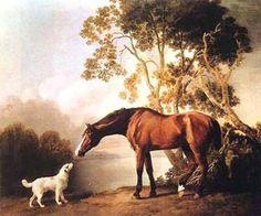 George Stubbs  My favorite of his works.