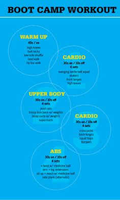 Boot Camp workout 2