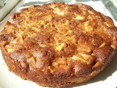 One Bowl Apple Cake Ingredients: 2 eggs 1 3/4 cups sugar 2 heaping teaspoons cinnamon 1/2 cup oil 6 medium Gala or Fuji or Honey Crisp apple...