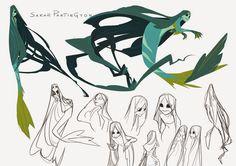 Poot's Pen: The Mermaid