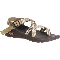 Chaco Women's Z/Cloud X2 Sandal ($110) ❤ liked on Polyvore featuring shoes, sandals, kelp knit, chaco sandals, wrap shoes, double strap sandals, wrap around sandals and wrap around shoes