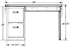 How To Build A Desk