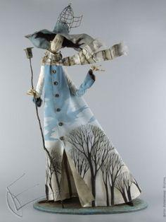by the Russian artist Olga Egupets Paper Clay Art, Paper Mache Clay, Christmas Chalkboard Art, Realistic Dolls, Little Doll, Doll Maker, Bjd Dolls, Fashion Dolls, Art Tutorials