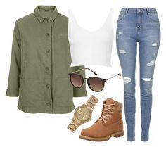 """""""Untitled #898"""" by littlemixmakeup ❤ liked on Polyvore featuring Topshop, Timberland and River Island"""