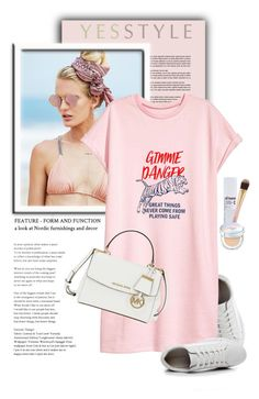 """""""YESSTYLE.com"""" by monmondefou ❤ liked on Polyvore featuring Beach Riot, Etude House, Laneige and Michael Kors"""