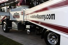 We don't just do cars! This cement boom truck was treated to CS-II Titanium Coating