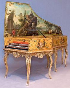 Harpsichord by Andreas Ruckers, Antwerp, 1643.