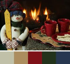 winter color pallets--great