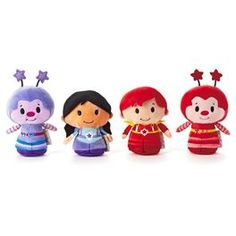 Rainbow Brite itty bittys® Collection of Indigo, Red Butler, Hammy Sprite and Romeo Sprite | $29.95 @ hallmark.com