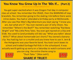 80's Child. growing up in Oregon I thought the Oregon Trail game was super awesome lol