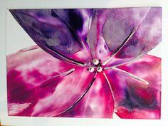 Encaustic flower