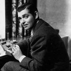 Clark Gable (Cadiz, Ohio, 1 de fevereiro de 1901 — Los Angeles, California, 16 de novembro de 1960)