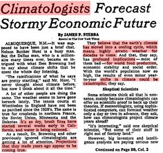 40 years ago, scientists blamed the California drought on global cooling