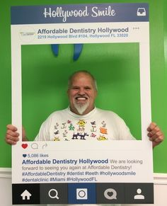 🍎Our Patients Are Happy With Their Smile! Thank you for your trust! ☎️Call Us Today For Your FREE EXAM & XRAY! 🍏Affordable Dentistry of Hollywood 👉http://www.affdentistry.com/ 🏥Address: 2219 Hollywood Blvd #104, Hollywood, FL 33020 📞Ph & Emergency 24/7: (786)808-9988, (954)589-2176 🕙Mo to Fr 9am-6pm; Sa 9am-1pm  #affdentistry #miamidentist #miamiorthodontist #miamismiles #miamibeauty #miamilife #brickell #miamievents #downtownmiami #miamistyle #southmiami #miamiart #southbeachmiami…