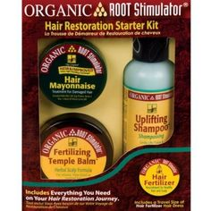 Outer Beauty Supply - Organic Root Stimulator Hair Restoration Starter Kit, $15.99 (http://www.outerbeautysupply.com/organic-root-stimulator-hair-restoration-starter-kit/)