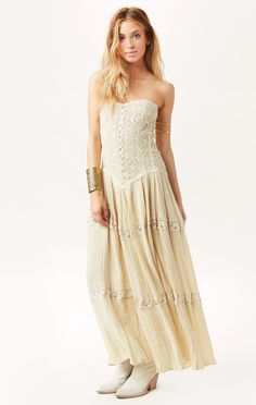 CHEROKEE ROSE MAXI DRESS