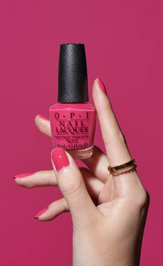 This shade is going places. Try GPS I Love You from OPI's California Dreaming collection.