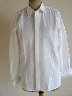 Vintage French Unused Guy Laroche Poly Cotton Shirt Collar Size 15 by VintageFrenchFinds, $25.00