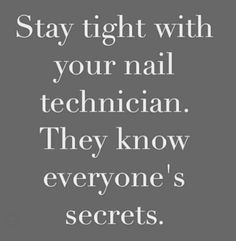 Funny Nail technician quotes and memes Manicure Quotes, Nail Quotes, Manicure And Pedicure, Mobile Nail Salon, Mobile Nails, Nail Tech School, Nail Memes, Nail Room, Nail Studio