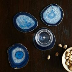 Anthropologie   Agate Coasters