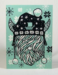 Viking Holiday Cards