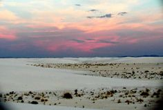So many memories at White Sands, New Mexico!!