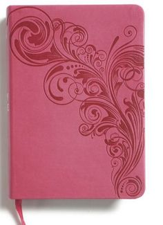 KJV-LARGE-PRINT-COMPACT-BIBLES-PINK-LEATHER-TOUCH-BRAND-NEW