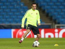 Xavi speelt al zijn gehele carrière voor FC Barcelona.