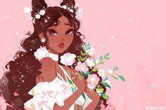 art kawaii - Vicki Tsai is creating Art, art, and MORE ART Black Girl Cartoon, Black Girl Art, Black Women Art, Art Girl, Cartoon Kunst, Cartoon Art, Cartoon Illustrations, Pretty Art, Cute Art