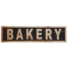 A thoughtfully distressed black and cream finish makes the Studios Bakery Wood Wall Decor a great way to decorate your vintage kitchen. Key Wall Decor, Metal Flower Wall Decor, Compass Wall Decor, Pallet Wall Decor, Starburst Wall Decor, Medallion Wall Decor, Wooden Wall Decor, Frame Wall Decor, Farmhouse Wall Decor