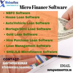 Welcome to Websoftex Microfinance Banking one of the finest and customized software tool for managing your Co-operative Society of any type. Easy Banking is a powerful GUI based application designed to take care of all aspects of your society. Banking Software, Software House, Software Online, Core Banking, Application Design, Finance, Management, Type, Easy