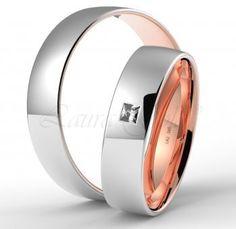Svadobné obrúčky S714- svadobné obrúčky- eshop Laura Gold, Wedding Bands, Engagement Rings, Jewelry, Model, Enagement Rings, Wedding Rings, Jewlery, Jewerly