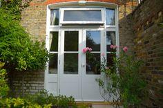 Edwardian French doors in Wimbledon