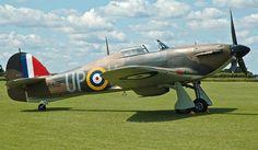 Vintage Hawker Hurricane - RAF Halton | Charity Flying Weekend 2011