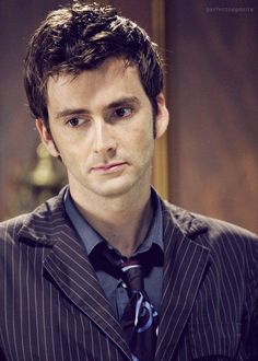 David Tennant... He's equal parts adorable and sexy... So let's look at him!