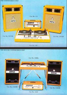 orange disco dj set uphttp://www.pinterest.com/TheHitman14/dj-culture-vinyl-fantasy/