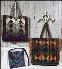 Vive La Tote Pattern from Whistlepig Creek. http://www.kayewood.com/item/Vive_La_Tote_Pattern/1711 $8.50