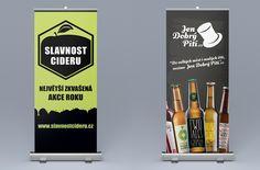 Roll-Up systém pro Slavnost Cideru a Jen Dobrý Pití