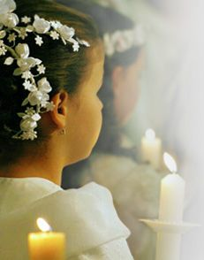 How do you prepare for your child's First Holy Communion?