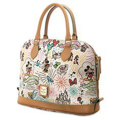 565aa93b3af6 Disney Sketch Zip Satchel by Dooney & Bourke | Disney Store Prada Bag,  Disney